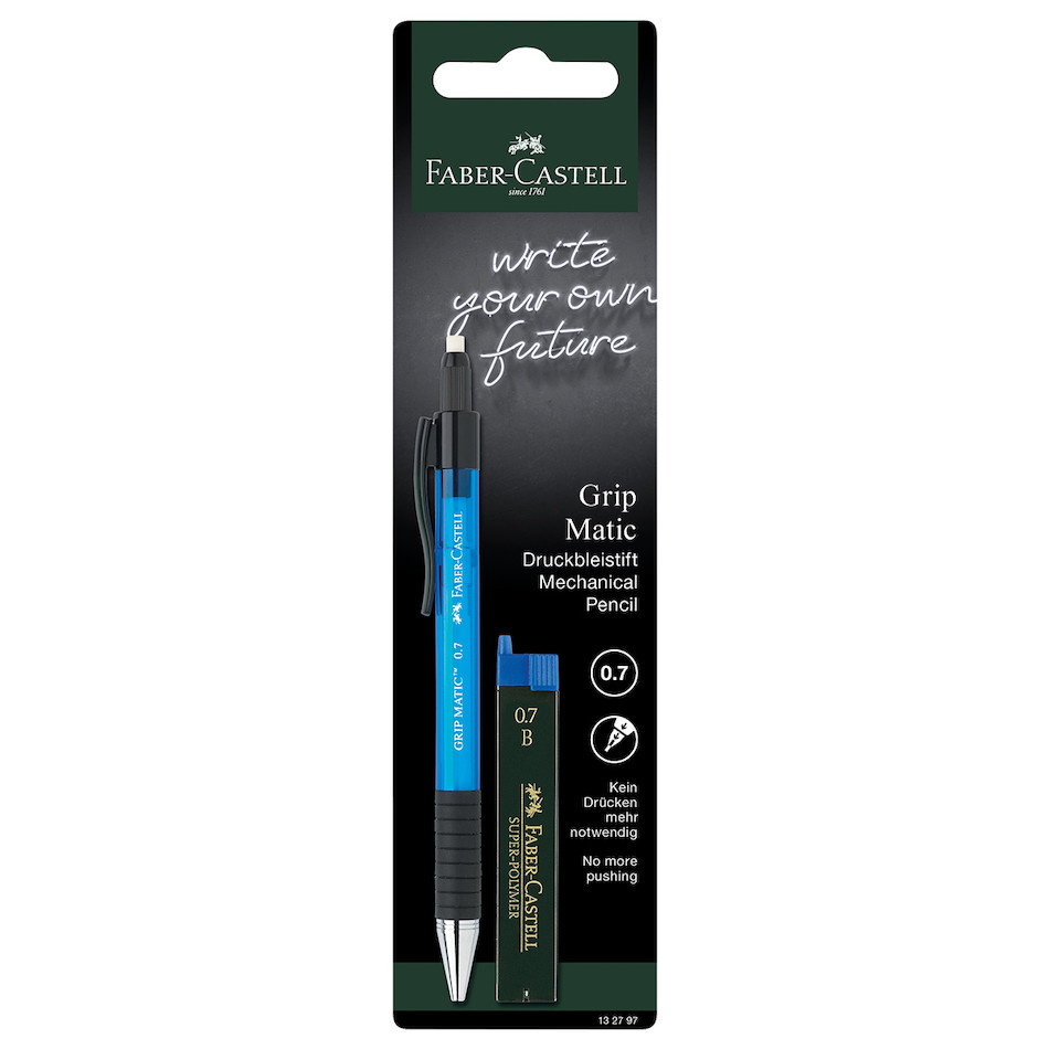 Faber-Castell Grip-matic 1377 0.7mm Mechanical Pencil + Leads