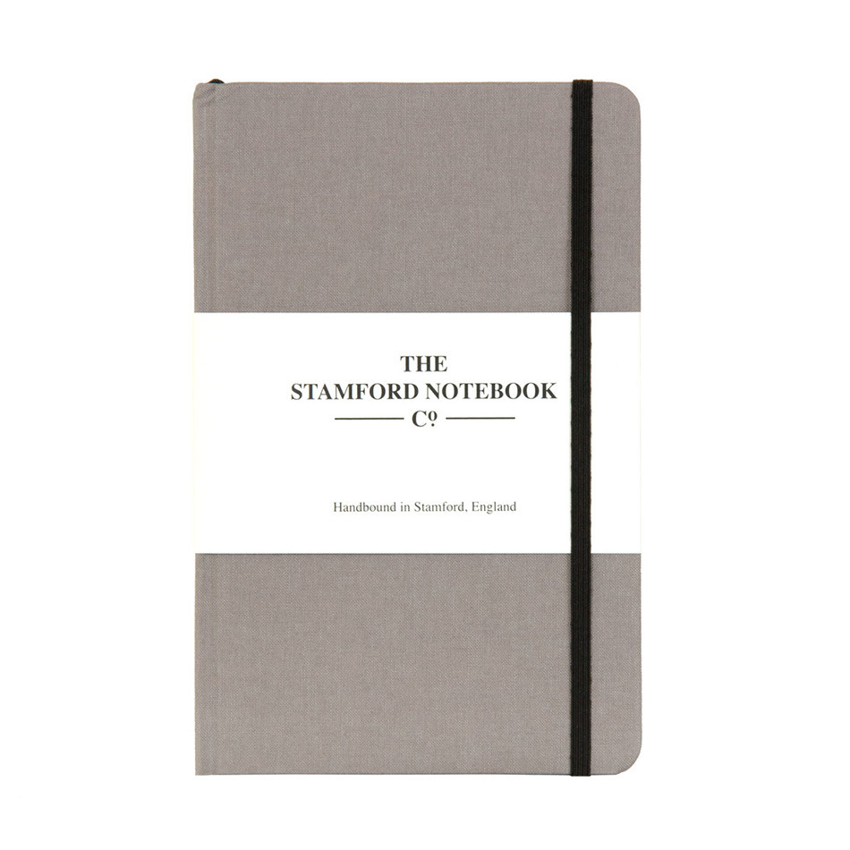 Stamford Notebook Company The Limited Edition Woven Cloth Notebook Octavo Pocket Taupe