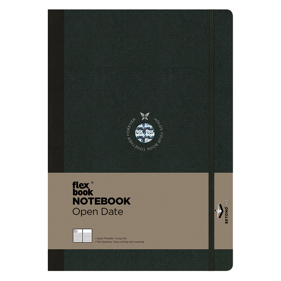 Flexbook Flex Global Notebook and Diary Large Black