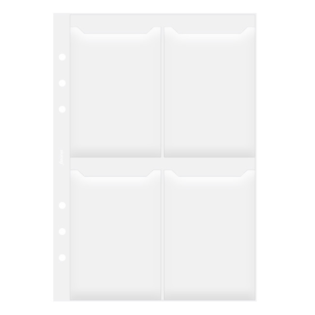 Filofax Business Card Holder Double Sided