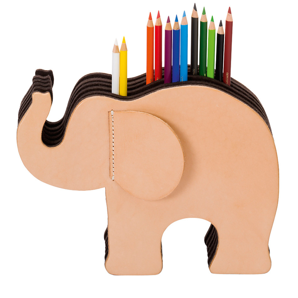 Graf von Faber-Castell Leather Elephant Pencil Stand