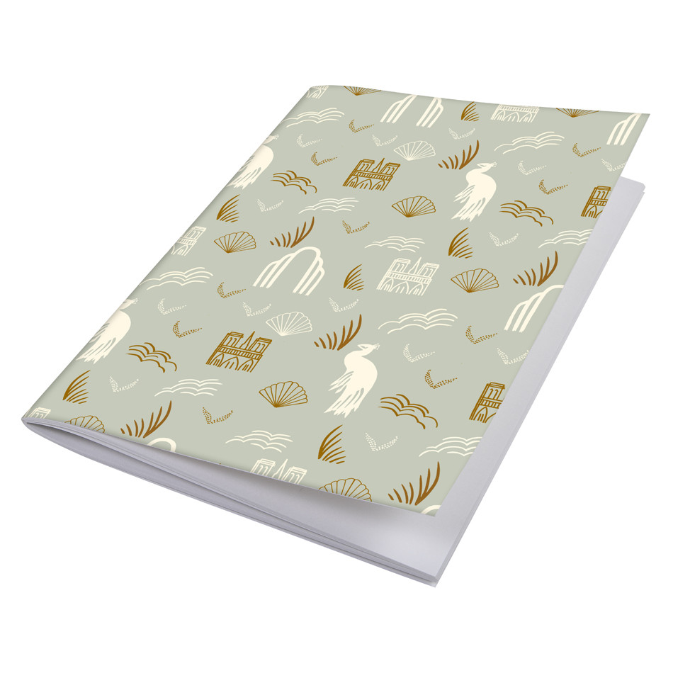 G Lalo 100 Years Sewn Spine Notebook A5 Pistachio