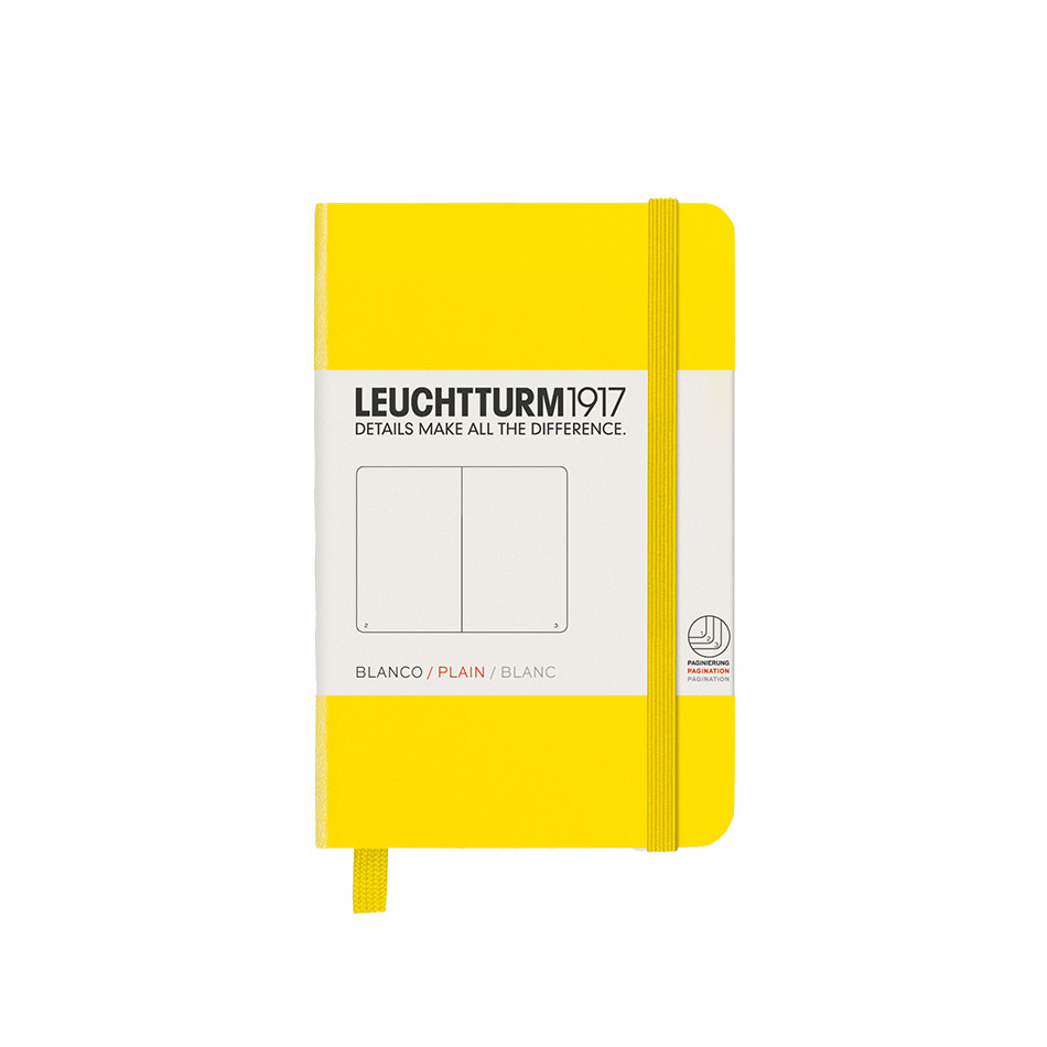 Leuchtturm1917 Hardcover Notebook Mini Lemon