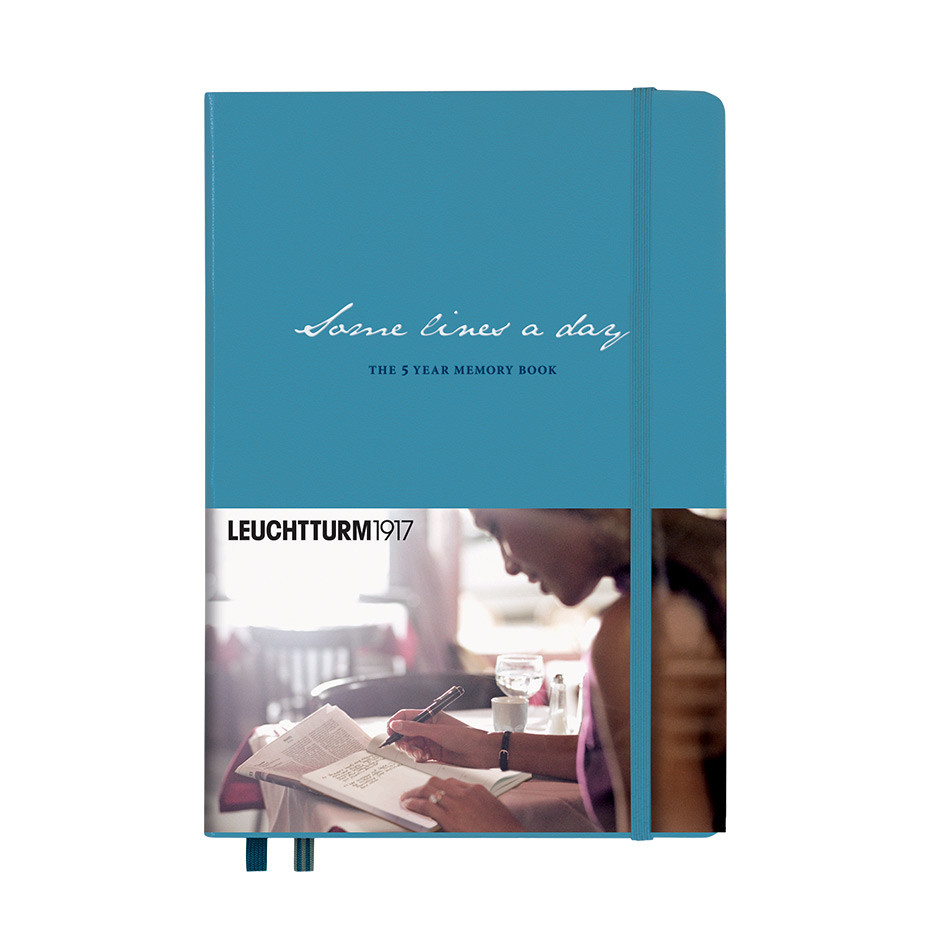 Leuchtturm1917 Some Lines a Day Five Year Memory Book Nordic Blue
