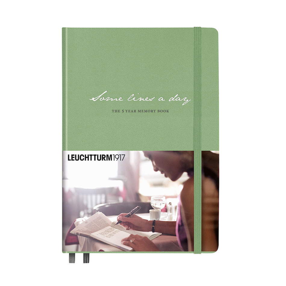 Leuchtturm1917 Some Lines a Day Five Year Memory Book Sage