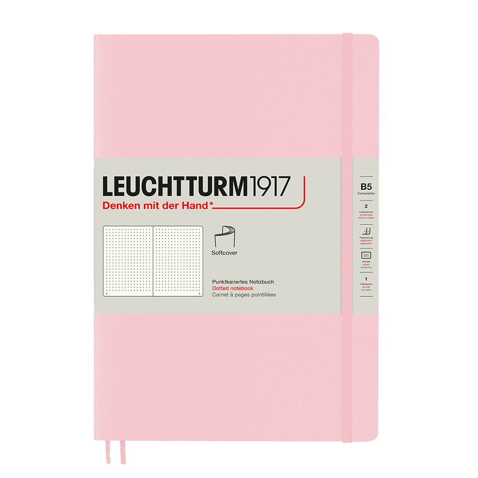 Leuchtturm1917 Softcover Notebook B5 Powder