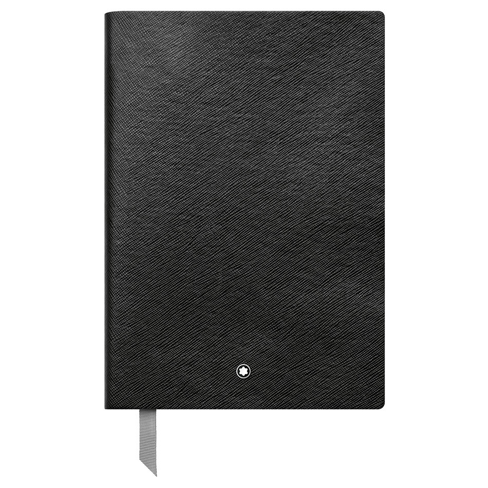 Montblanc Fine Stationery Notebook Black Squared