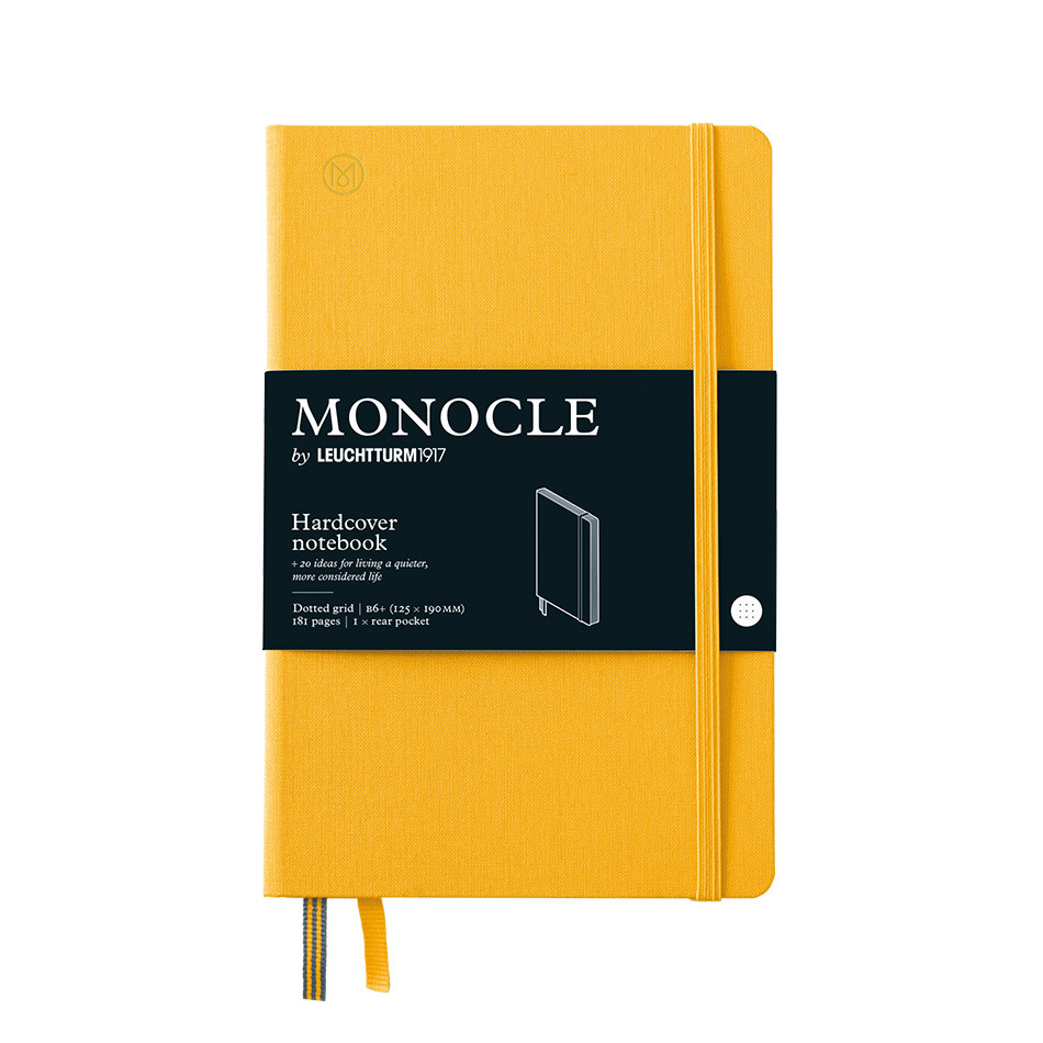 Monocle by Leuchtturm1917 Hardcover Notebook B6+ Yellow