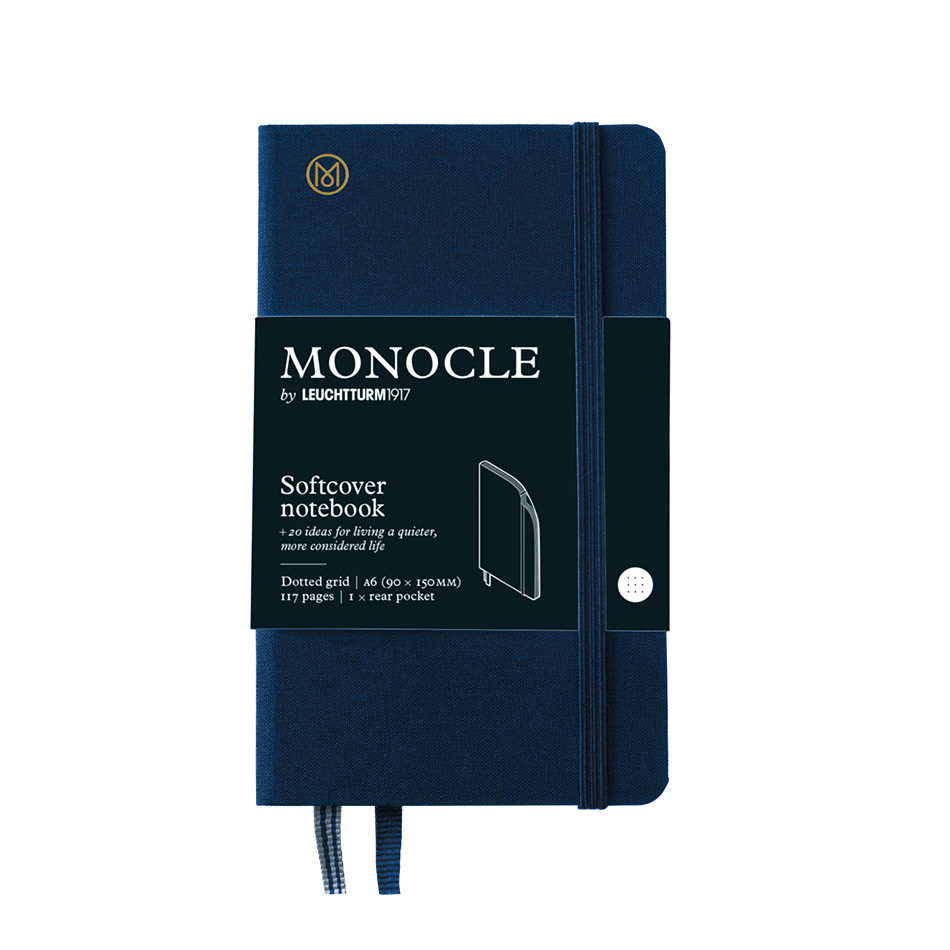 Monocle by Leuchtturm1917 Hardcover Notebook A6 Navy