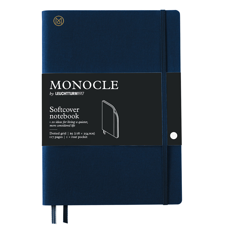 Monocle by Leuchtturm1917 Softcover Notebook B5 Navy