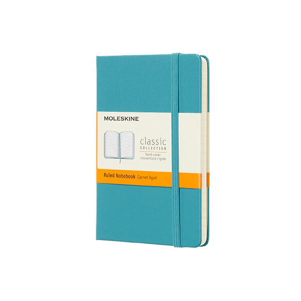 Moleskine Classic Collection Pocket Notebook 90x140 Reef Blue