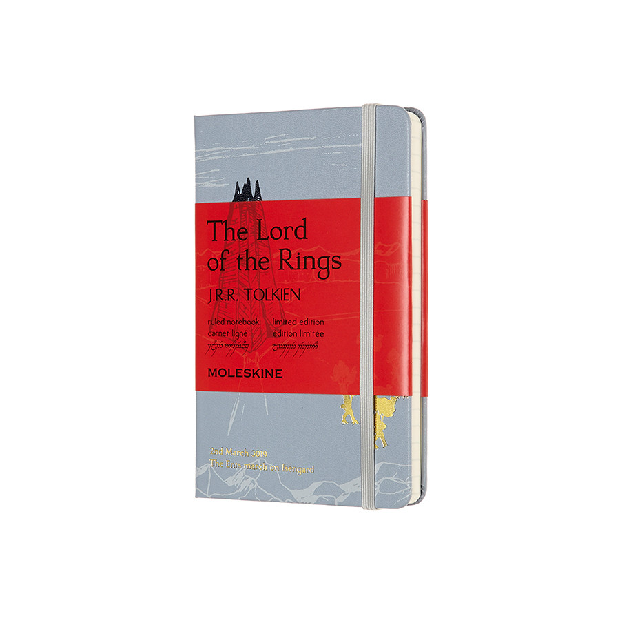 Moleskine Lord of the Rings Pocket Notebook Limited Edition Isengard