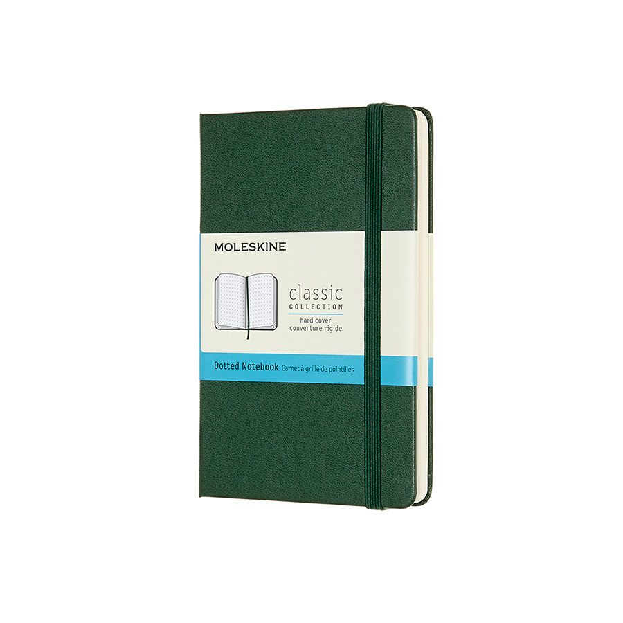 Moleskine Classic Collection Pocket Notebook 90x140 Myrtle Green