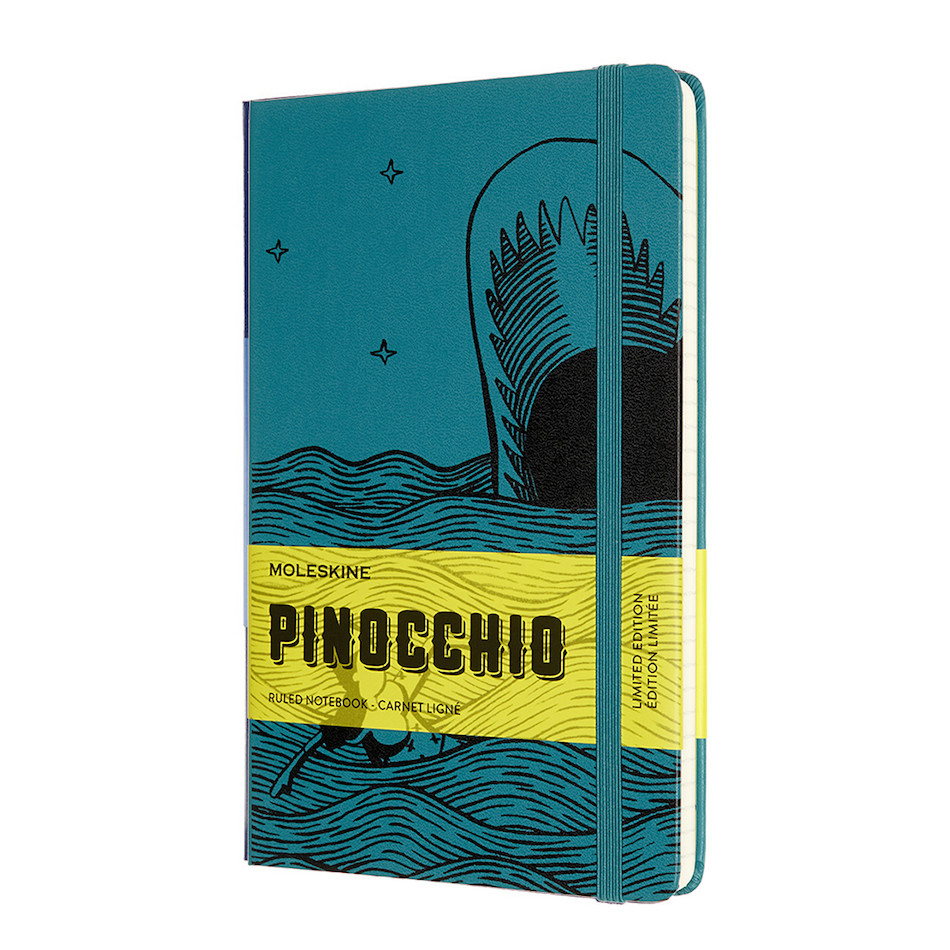 Moleskine Pinocchio Large Notebook Limited Edition The Dogfish Ruled