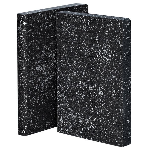Nuuna Graphic L Smooth Bonded Leather Cover Notebook Milky Way