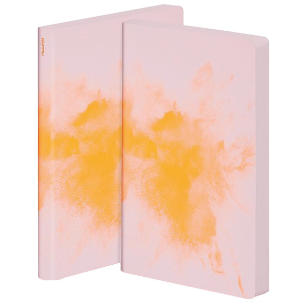 Nuuna Colour Clash L Light Smooth Bonded Leather Cover Notebook Blast