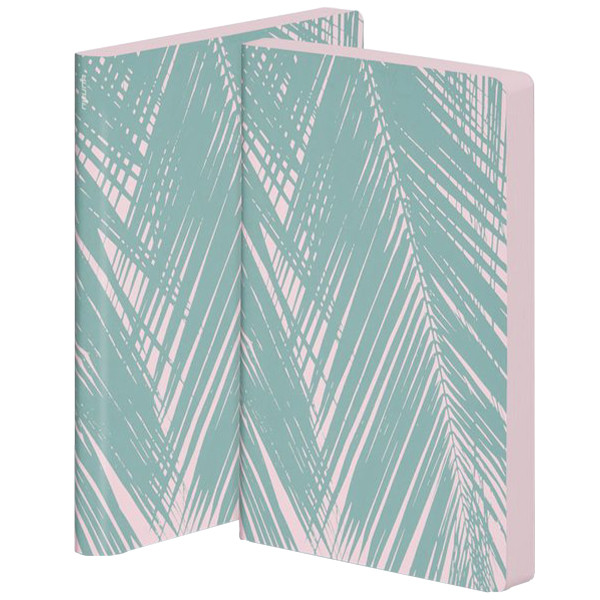 Nuuna Colour Clash L Light Smooth Bonded Leather Cover Notebook Baby Beach
