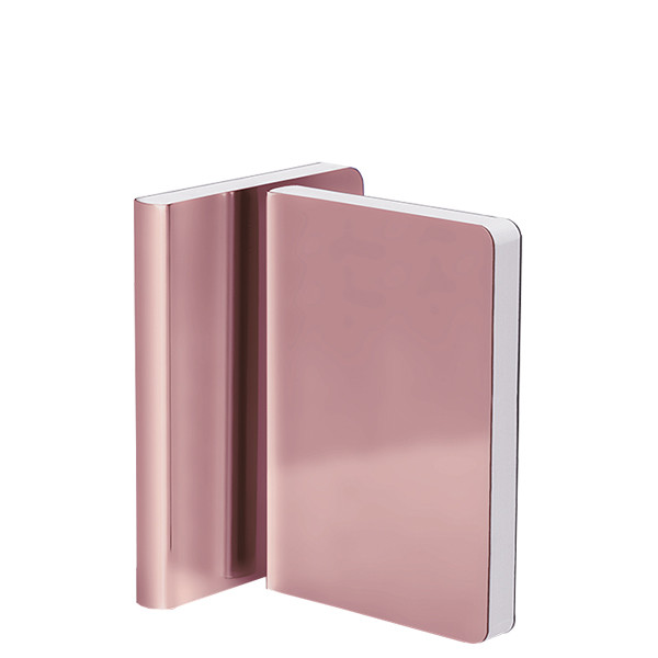 Nuuna Shiny Starlet S High Gloss Metallic Cover Notebook Cosmo Rose