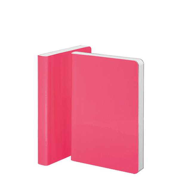 Nuuna Candy S High Gloss Cover Notebook Neon Pink