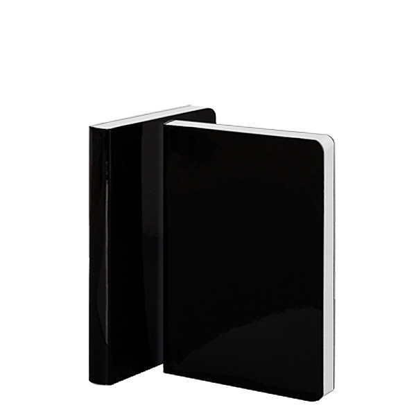 Nuuna Candy S High Gloss Cover Notebook Black