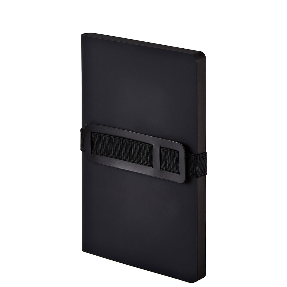 Nuuna Voyager M Recycled Leather Cover Notebook Black