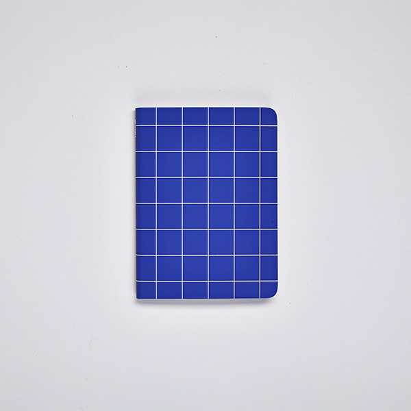 Nuuna Graphic S Recycled Leather Cover Notebook Break The Grid