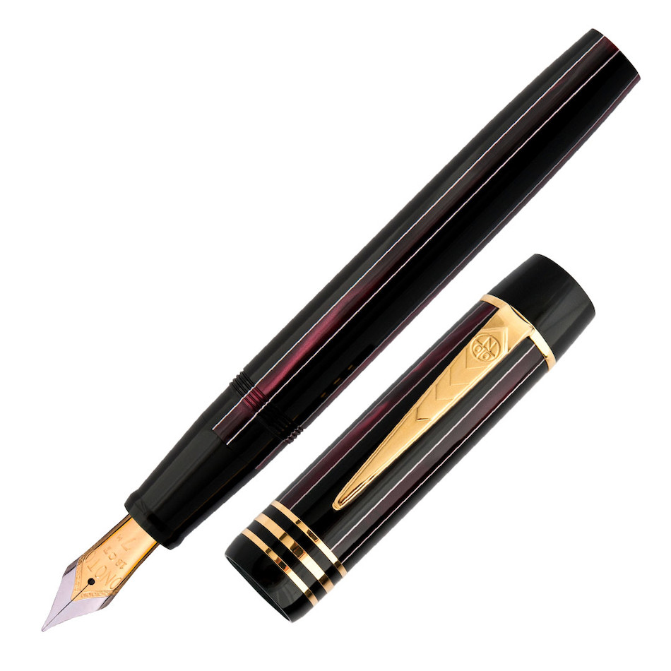 Onoto Charles Dickens 18ct Gold Nib Fountain Pen Chuzzlewit Limited Edition