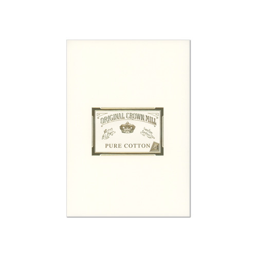 Original Crown Mill Pure Cotton Writing Pad A4