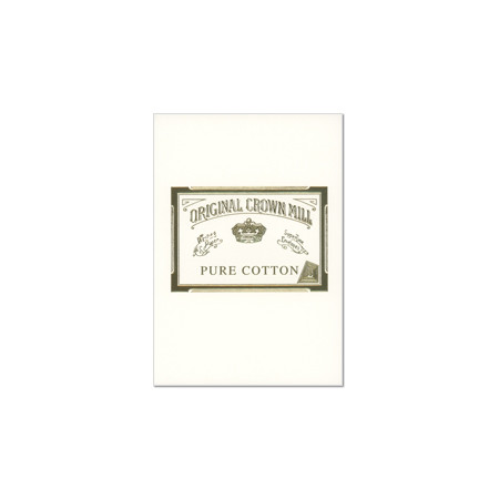 Original Crown Mill Pure Cotton Writing Pad A5