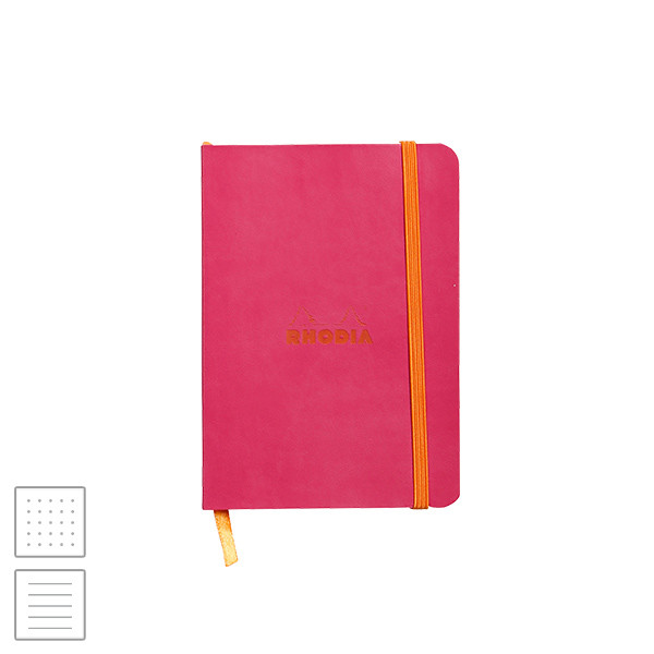 Rhodia Rhodiarama Softcover Notebook A6 (105 x 148) Raspberry