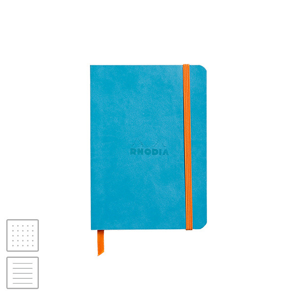 Rhodia Rhodiarama Softcover Notebook A6 (105 x 148) Turquoise