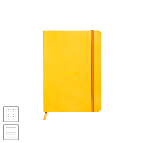 Rhodia Rhodiarama Softcover Notebook A5 (148 x 210) Daffodil Yellow