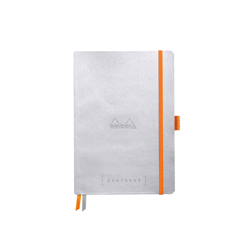Rhodia Rhodiarama Softcover Goalbook With White Paper A5 Silver