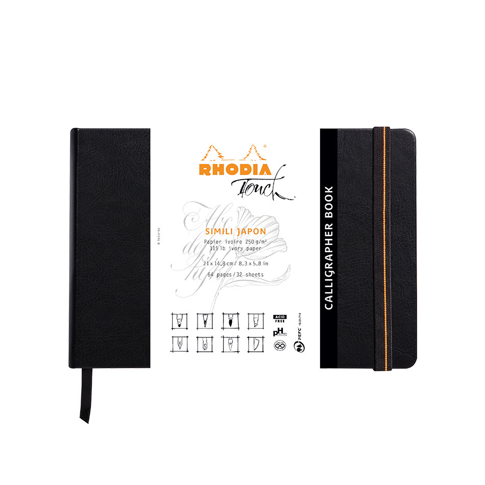 Rhodia Touch Calligrapher Book Hardcover A5