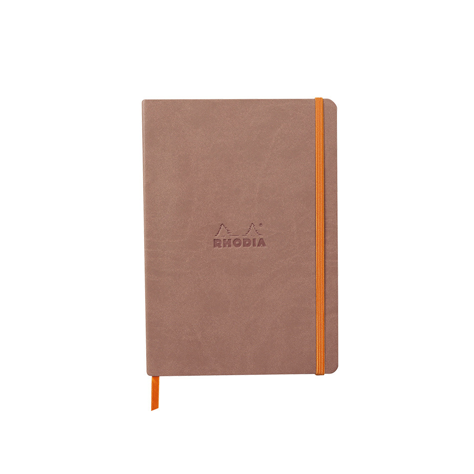Rhodia Rhodiarama Softcover Notebook A5 Rosewood