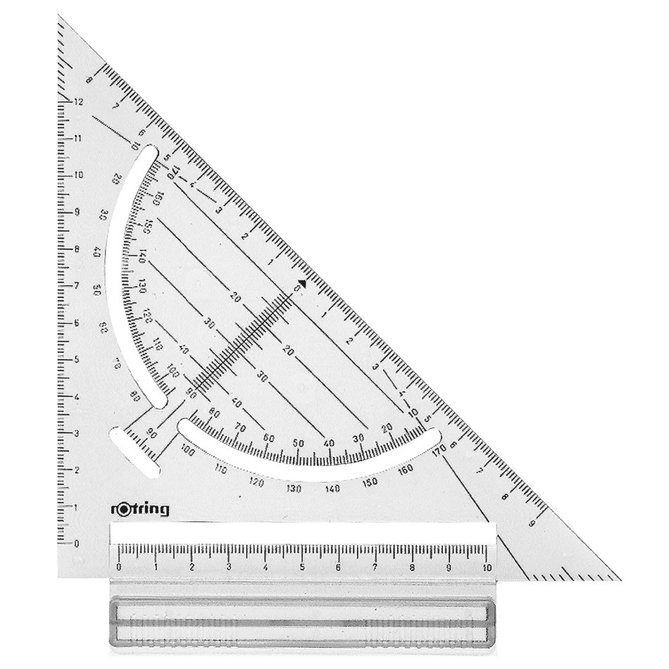 rotring Rapid Drawing Board Set Square