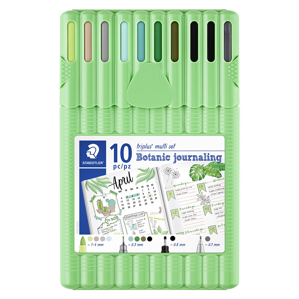 Staedtler Triplus Multi Set Botanic Journaling