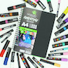Artgecko Freestyle Gecko Soft Touch Hardcover Sketchbook A4