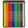 Caran d'Ache Swisscolor Water-Soluble Colouring Pencils Metal Box of 18