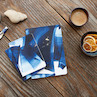 Clairefontaine Indigo Stapled Notebook A5 Lined Set of 2