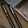Esterbrook Estie Rollerball Pen Ebony With Chrome Trim