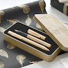 Faber-Castell Grip Fountain Pen and Ballpoint Set Limited Edition Gold