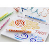Faber-Castell Twistable Wax Crayons Set of 24