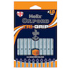 Helix Oxford Trigrip Rollerball Pen Set of 10 Blue