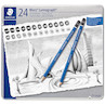 Staedtler Mars Lumograph Set of 24